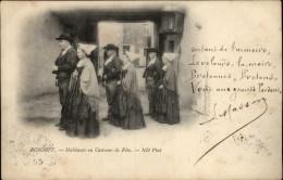 29 - ROSCOFF - Costume - Coiffe - Poème - Roscoff