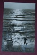 Romania - Roumanie - EFORIE NORD - The Beach, Plage, Bateau, Boat - Halt Gegen Das Licht/Durchscheink.