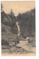 Cpa Du 04 -ALLOS- (les Basses Alpes) Cascade Du Chadoulin - Autres Communes