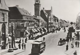 AK 80 Jahre Strassenbahn Brandenburg Um 1898 St. Annen Strasse Friedensstrasse Rathaus Post Stumpfes Eck NEUDRUCK - Brandenburg