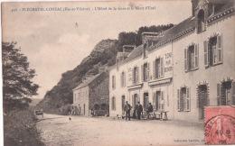 PLECHATEL-LOHEAC- L'Hotel De La Gare Et Mont D'Uzel  ( D-35 ) - Altri Comuni