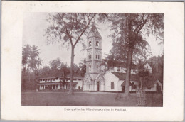 AK INDIEN KALIKUT 1912-10-16 Neuveville Evangelische Missionskirche - Inde