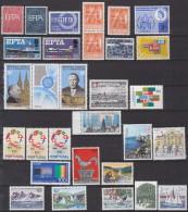 = Série De 29 Timbres Avec Mentions Ou Sigles Europa Neufs Gommés - 1967