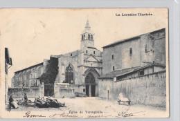 54 Meurthe Et Moselle (canton Tomblaine) VARANGEVILLE Eglise De  Varangéville (Année 1903)*PRIX FIXE - France