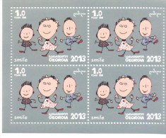 2014. Georgia, Smile (Childrens), S.s, Mint/** - Georgia