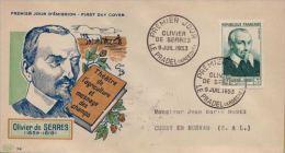 1951-1953, FDC - LOT DE LETTRES PREMIER JOUR AUSSI RARES