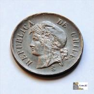Chile - 2 Centavos - 1879 - Chile