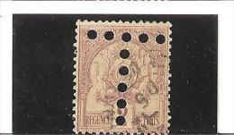 TIMBRES TAXE DE 1888  -  98 Fond Pointillés Chiffres Gras  N° 10 Oblitéré - Tunisia (1888-1955)