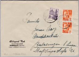 Heimat De BW STÜHLINGEN 1948-12-07 Brief Nach Rielasingen - Zone Française