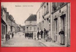 SOUANCE Au PERCHE (28) - Quartier De La Place - Belle Animation.  (D) - Autres Communes