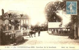 SOTTEVILLE SUR MER  CARREFOUR DE LA BOUCHERIE - Autres Communes