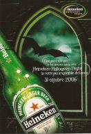 PUBBLICITA BIRRA HEINEKEN HALLOWEEN NIGHT 2006 - Advertising