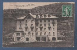05 HAUTES ALPES - CP LES ALPES - AIGUILLES STATION ESTIVALE - LE GRAND HOTEL - FOURNIER EDIT GAP N° 1983 - CIRCULEE 1914 - France