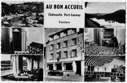 Chateaulin Port Launay Finistère Hotel Restaurant Bon Accueil Bromure 1950 état Superbe - Châteaulin