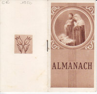CALENDRIER ... 1950 ... ALMANACH ... - Kalenders