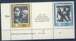 DDR Nr. 1680 - 1681 ** postfrisch DV Druckvermerk W Zd 251