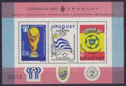 Soccer World Cup 1982 - URUGUAY - S/S MNH - Coupe Du Monde