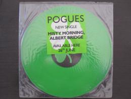 "Rare 1989 UK Limited Edition - The Pogues - Misty Morning, Albert Bridge (12"", 45 ) Only 600 Copies Produced! - Otros - Canción Inglesa"