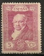 Timbres - Espagne - 1930 - Goya -  5  Cts - - 1889-1931 Kingdom: Alphonse XIII