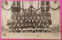 Cpa Scouts Scoutisme Le Patronage De Varangéville 5 Juillet 1908 Carte Postale Animée 54 Lorraine - Autres Communes