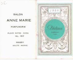 CALENDRIER DE POCHE ... 1969 ... PUBLICITE WASSY - Petit Format : 1961-70