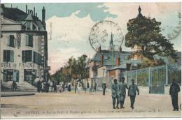 NEVERS - Rue De Paris Et Hospice Général - Nevers