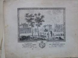 Vieux Paris, Barrière Du Maine , TB LITHO  1818 à D. Miretti, Par Nicolo Saviglianese ; Ref 430 - Estampes & Gravures