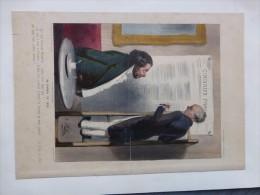 Un JOURNAL En 1843,  TB LITHO Couleur  ; Ref 448 - Estampes & Gravures