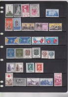 Italy 1959 29 Stamps MNH - 1946-60: Ungebraucht