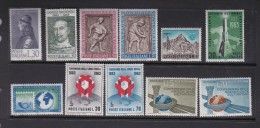 Italy 1963 19 Stamps - 1961-70: Mint/hinged