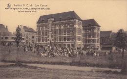 Auderghem 51: Institut ND Du Bon Conseil. Façade Latérale Droite - Auderghem - Oudergem