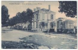 85 - LUÇON - Corps De Garde Et Avenue Wilson - Lucon
