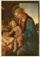 Milano - Cartolina LA VERGINE COL FIGLIO Di BOTTICELLI (Poldi-Pezzoli) - OTTIMA H34 - Malerei & Gemälde
