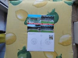 ANNULLO SPECIALE  Calcio Football 15.11.1997 Qualificazioni Campionati Mondiali 1998 Napoli Italia Russia - 6. 1946-.. Republic