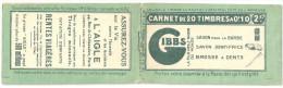France Carnet Semeuse Camée Yvert 159-C1 ** Serie 26, NsC Couverture GIBBS, 110x60!, Cérès 24, Dallay 41 3 Scans 159 C 1 - Definitives