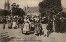 29 - ROSPORDEN - Costumes - Coiffes - Fêtes De La Pomme - Danse Bretonne - Gavotte - Francia
