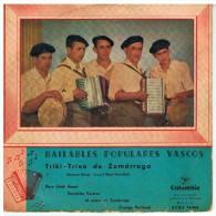 TRIKI-TRIXA De ZUMARRAGA  - ECGE 70466 Columbia - - 45 Rpm - Maxi-Single
