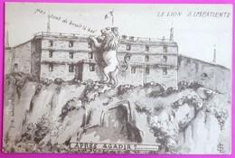 Cpa Satirique Sur Le Coup D'Agadir Incident Diplomatique Entre La France Et L'Allemagne En 1911 - Histoire Et Politique - Satiriques