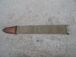 copie de fourreau de baionnette springfield en toile us 1917 dat� 1918 baio bayonet