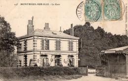 MONTREUIL-sur-ILLE --La Gare - Autres Communes