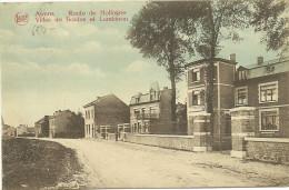 AWANS - Route De Hollogne - Villas De Bordes Et Lambinon - LEGIA - Circulé: 1924 - Awans