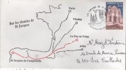 43  E PUY EN VELAY  Les Chemins De Saint Jacques  26/03/94 - Cristianismo