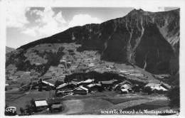 CPSM- LE BERSEND (38)- Le Bourg Et La Montagne D´Outray - Altri Comuni