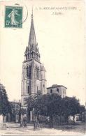 ST MEDARD DE GUIZIERES  L'église TTB - France