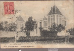 33-BEGADAN-Château Du Barrail 1907  Animé (rousseurs) - France
