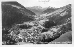 CPSM- BEAUFORT (38)- Le Bourg , Vue Générale Et Le Grand Mont - Altri Comuni