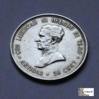 Uruguay - 20 Cents - 1920 - Uruguay