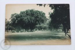 Old Singapore Postcard - Connaught Drive - Singapur