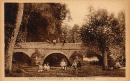 89 Saint Martin Sur Ouanne. Le Pont Sur L'Ouanne - France
