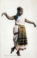 1913 CEYLON Nautch Dancer - Sri Lanka (Ceylon)